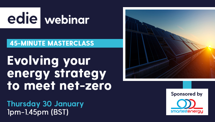 45-minute masterclass: Evolving your energy strategy to meet net-zero carbon targets - edie.net