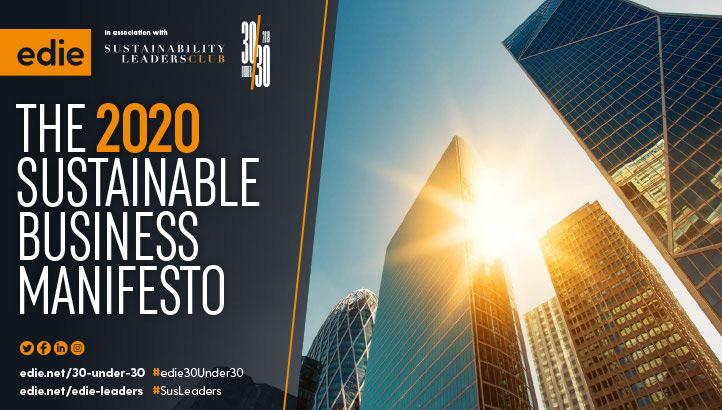 Best Practice in 2020: edie's Sustainable Business Manifesto