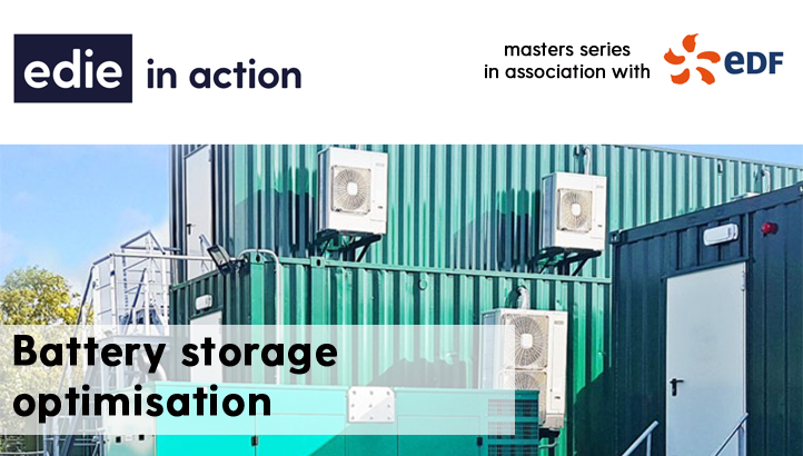 In action: EDF battery storage optimisation with a financial services company - edie.net