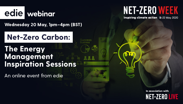 Net-Zero Carbon: The Energy Management Inspiration Sessions - edie.net