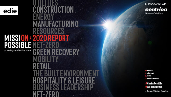 Mission Possible: The 2020 report - edie.net