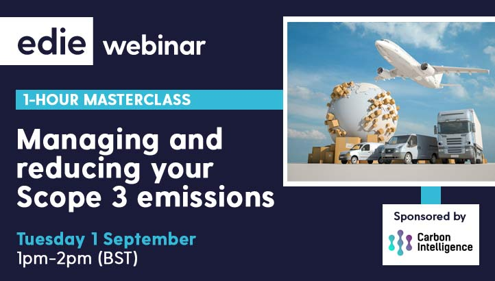 1-hour masterclass: Managing and reducing your Scope 3 emissions - edie.net