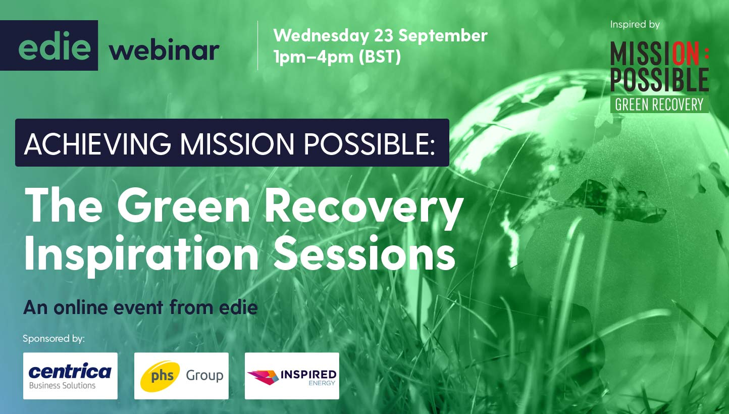 Achieving Mission Possible: The Green Recovery Inspiration Sessions