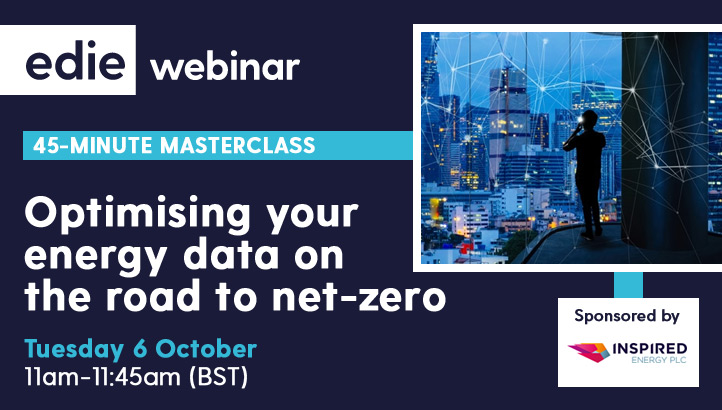 45-minute masterclass: Optimising your energy data on the road to net-zero