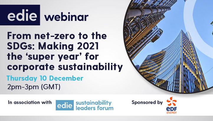 From net-zero to the SDGs: Making 2021 the 'super year' for corporate sustainability