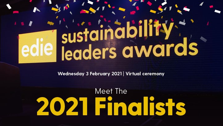 Sustainability Leaders Awards 2021: Meet the Finalists - edie.net