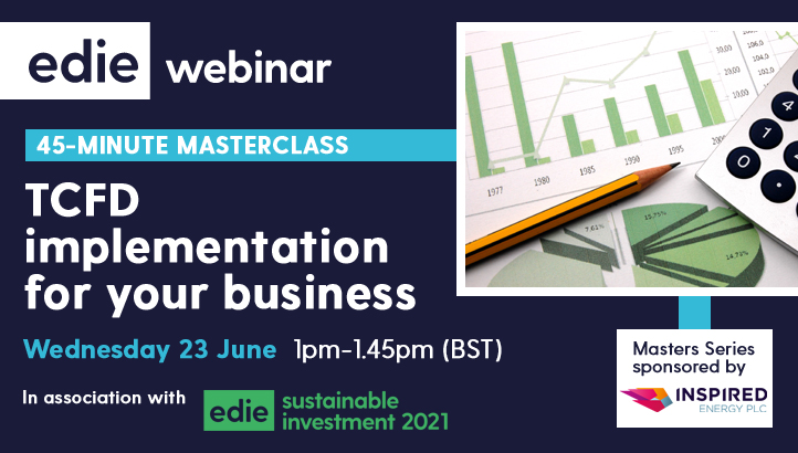 45-minute masterclass: TCFD implementation for your business