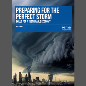 Preparing for the perfect storm: Skills for a sustainable economy - edie.net