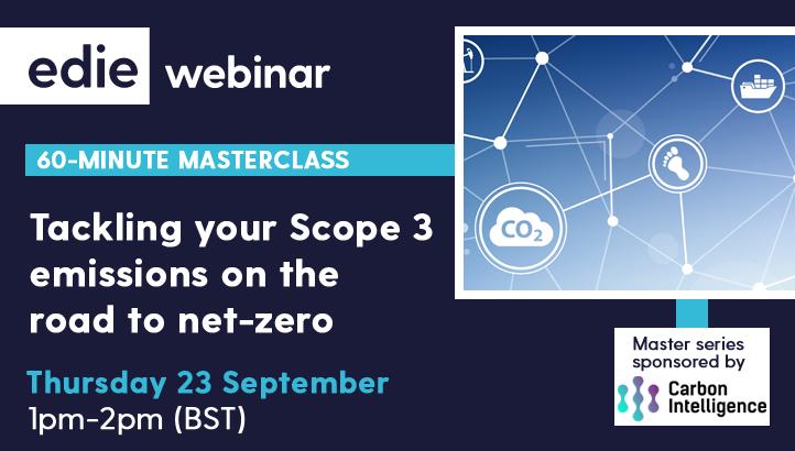 60分钟的MasterClass:解决您的范围3路线向Net-Zero