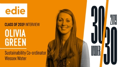 Before moving to Wessex Water in 2017, Olivia worked for EcoSurety while studying part-time for her masters