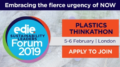 Over the two Thinkathon sessions, the group will explore how businesses can play a leading role in eliminating unnecessary single-use plastics