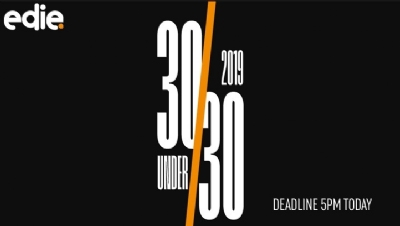 If you are an aspiring sustainability, energy or environmental professional who is aged under 30 (as of 31 December 2018), you can apply to be part of the edie 30 Under 30 today