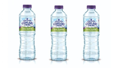 During a six-month trial of the bottle, Highland Spring found customers were not put off by its cloudy appearance or slightly higher price