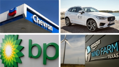 The demand for disclosure has been sent to 707 firms, including Chevron, Volvo, BP and Amazon