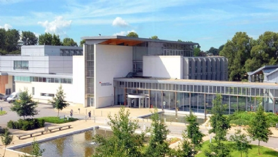 Gloucestershire University (pictured) received the highest overall score, 80.6%, across the league table's 11 criteria