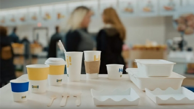 Ikea to begin removing plastic disposables from restaurants globally