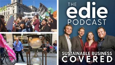 This episode features seven interviews, live from the strike