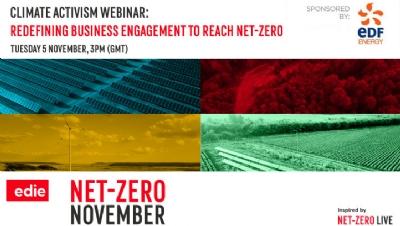 edie's next webinar: Redefining business engagement to help reach net-zero
