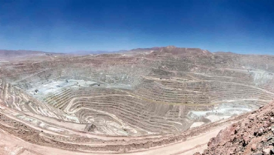 Pictured: BHP'sEscondida mining operations in Chile