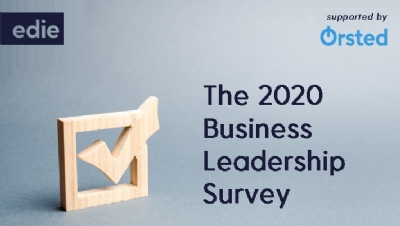 The survey results will form the basis of a major new report which will be launched at edie's Sustainability Leaders Forum on 4-5 February 2020