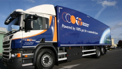 Government-backed trial of biomethane trucks slashes emissions for Asda