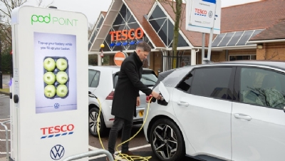 Tesco and Dixons Carphone join business calls for 2030 petrol and diesel car ban