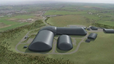 Pictured: An artist's impression of the completed mine.Image: West Cumbria Mining Company