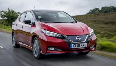 Pictured: The Nissan Leaf