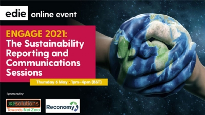 ENGAGE 2021: edie to host week of sustainability reporting and engagement content in May