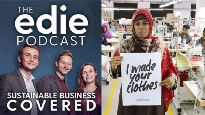All edie podcast episodes can be listened to via iTunes, Spotify and Soundcloud. Image right: Fashion Revolution