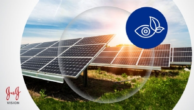 Johnson & Johnson Vision to power global HQ with 100% solar electricity