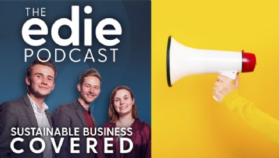 All edie podcast episodes can be listened to via iTunes, Spotify and Soundcloud