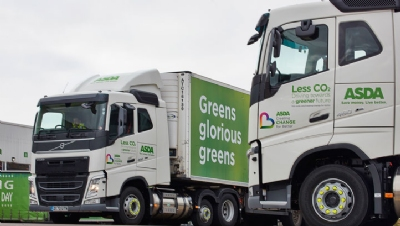 The retailer has committed to moving its entire heavy goods vehicle (HGV) fleet from diesel to gas by 2024