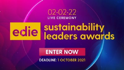 Join us at the 2022 edie Sustainability Leaders Awards on Wednesday 2 February