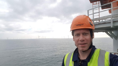 Pictured: Berwick Bank Project Director Alex Meredith