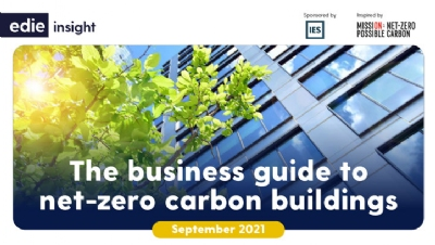 The Business Guide to Net-Zero Carbon Buildings provides a much-needed breakdown of how organisations can achieve net-zero carbon buildings
