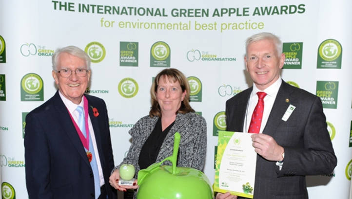 Holders of The Planet Mark™ GreenZone and Exterion Media win Green Apple sustainability awards