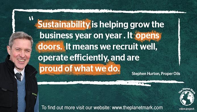 Enhancing brand image through sustainability: Proper Oils