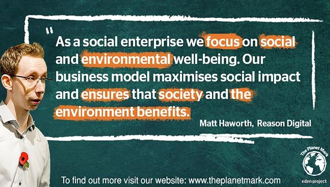 Maximising social impact through sustainability: Reason Digital
