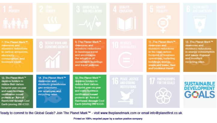 Free Tool: The Planet Mark™ SDG mapping table