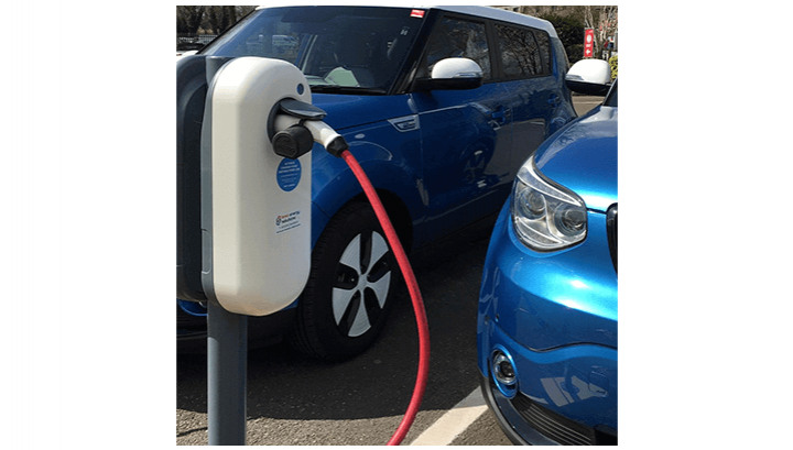Workplace EV Charging Points