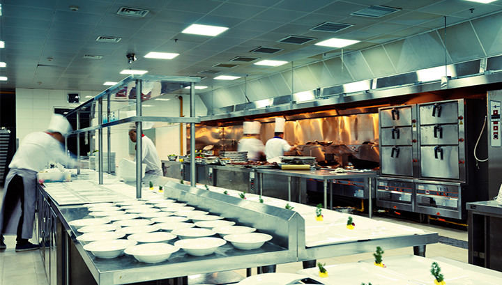 Skeleton Frames for Odour Control in Commercial Kitchen Extraction Systems with Air Handling Units