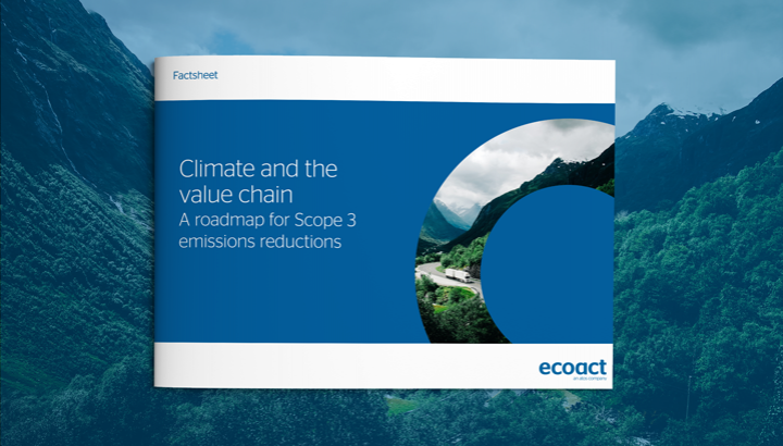 Climate and the value chain: a roadmap for Scope 3 emissions reductions