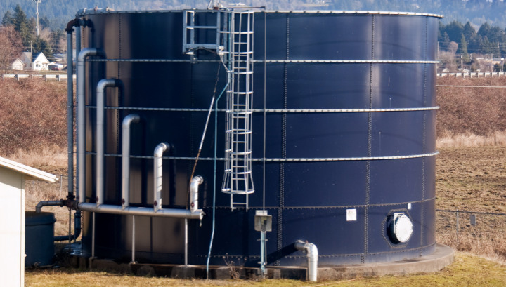 Bulk Filters for Wastewater Holding Tanks with Low to Medium Flowrates