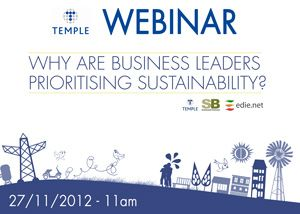 Creating value from sustainability; a boardroom priority?