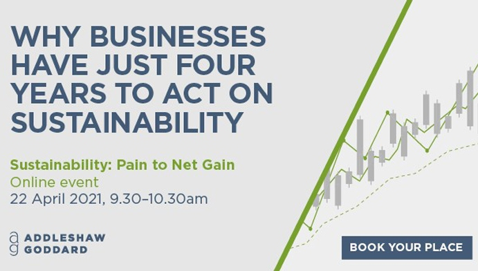 Sustainability: Pain to Net Gain